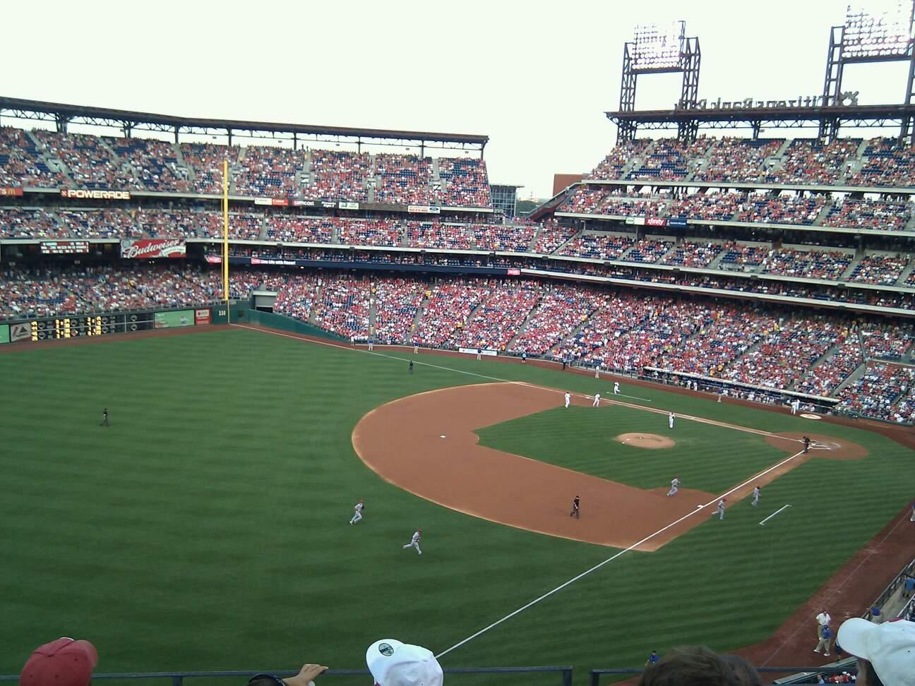 Citizens Bank Park Section 332 Row 4 Seat 5