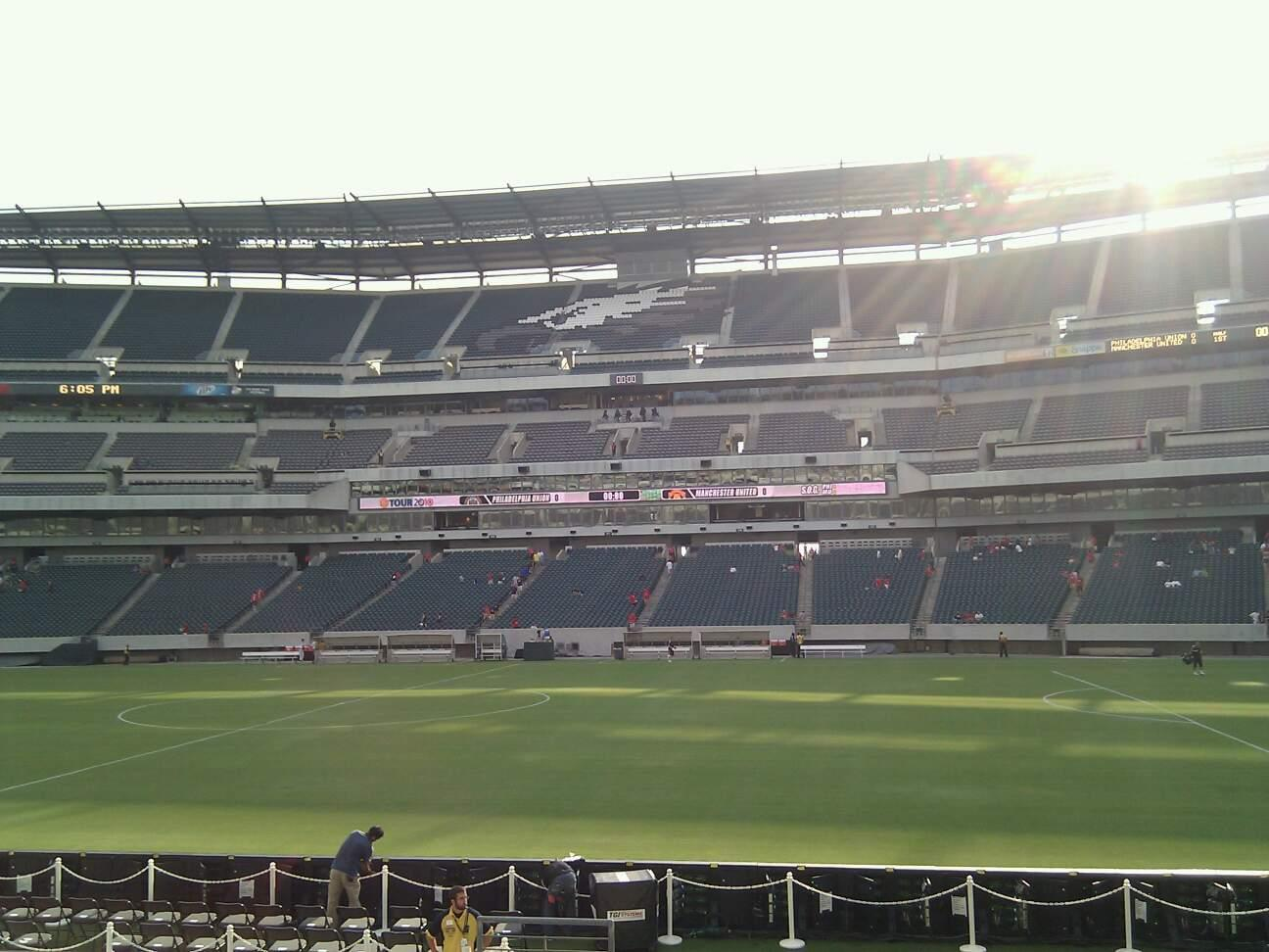 Lincoln Financial Field Section 122 Row 12 Seat 15