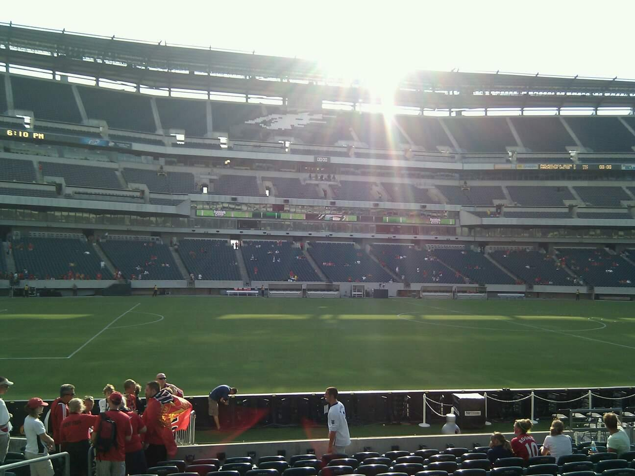 Lincoln Financial Field Section 118 Row 13 Seat 14