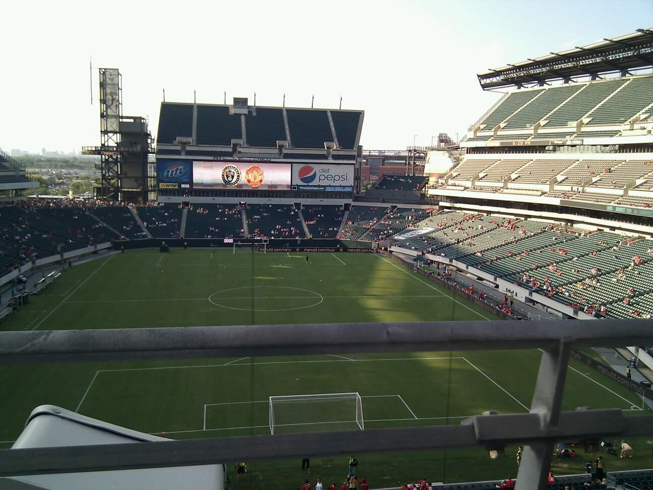 Lincoln Financial Field Section M10 Row 19 Seat 21