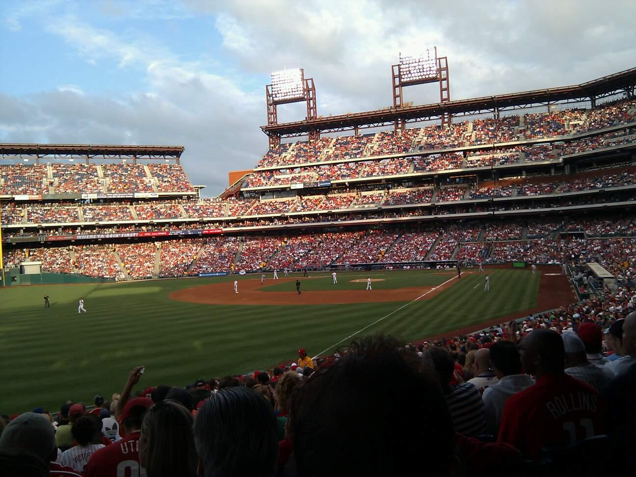 Citizens Bank Park Section 139 Row 35 Seat 14