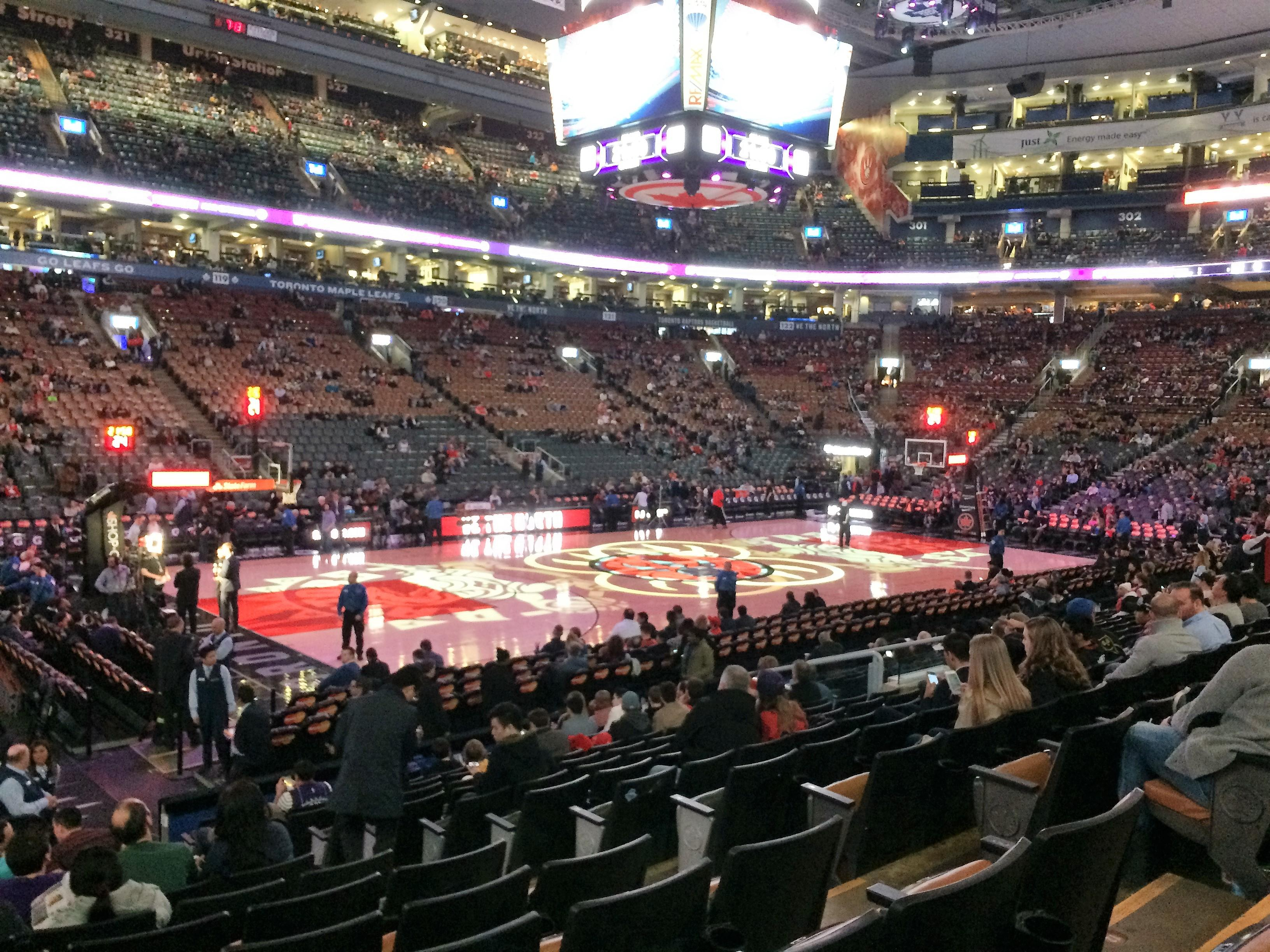 Scotiabank Arena Section 110 Row 14 Seat 6