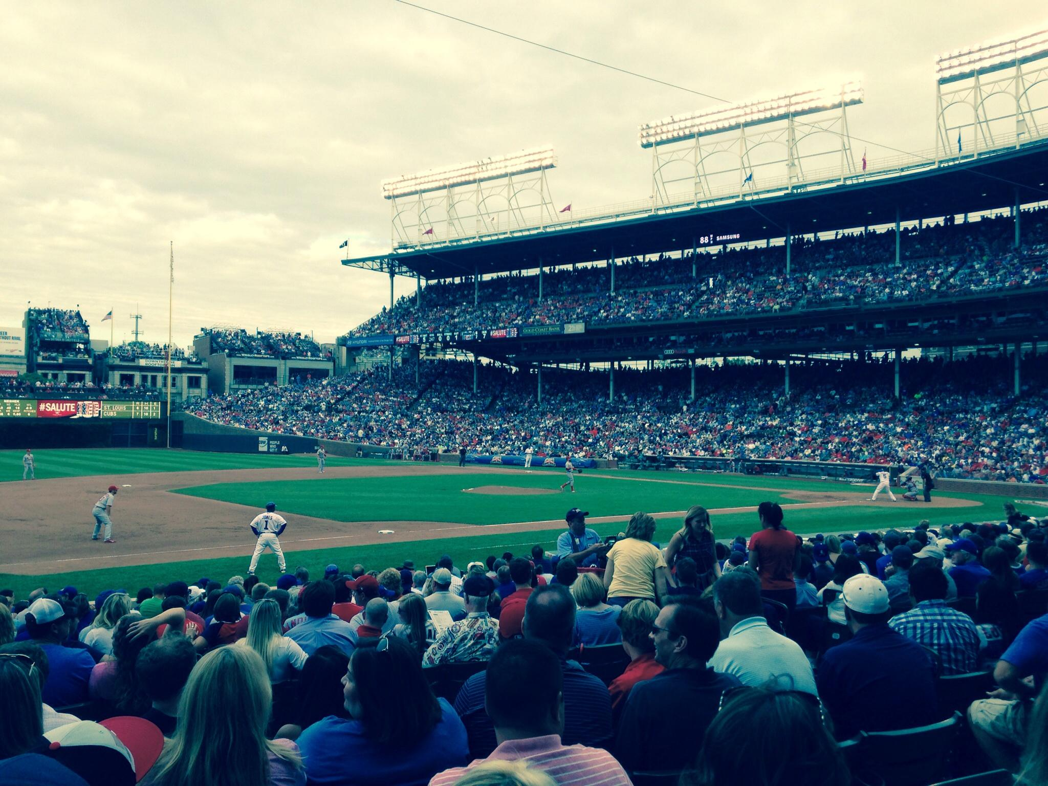 Wrigley Field Section 108 - Chicago Cubs - RateYourSeats.com