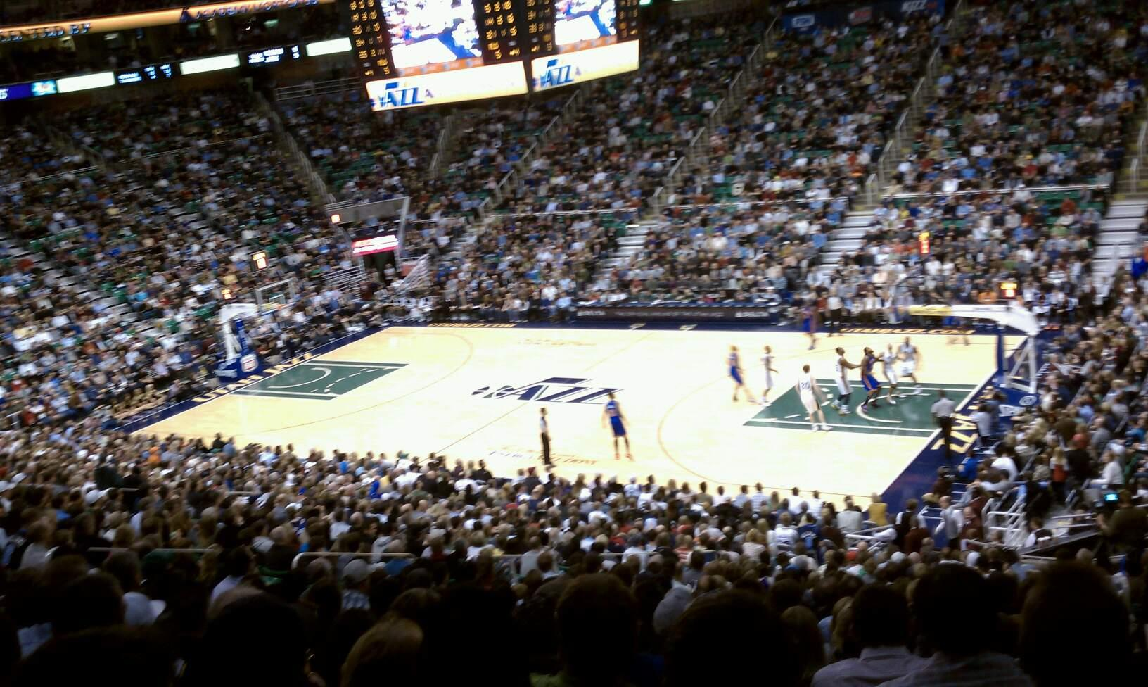 Vivint Smart Home Arena Section 14 Row 22 Seat 1