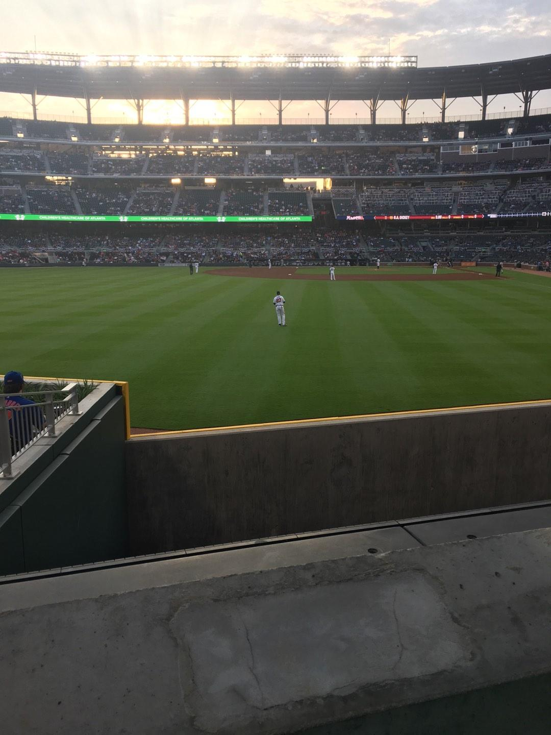 Truist Park Section 146 Row 9 Seat 2