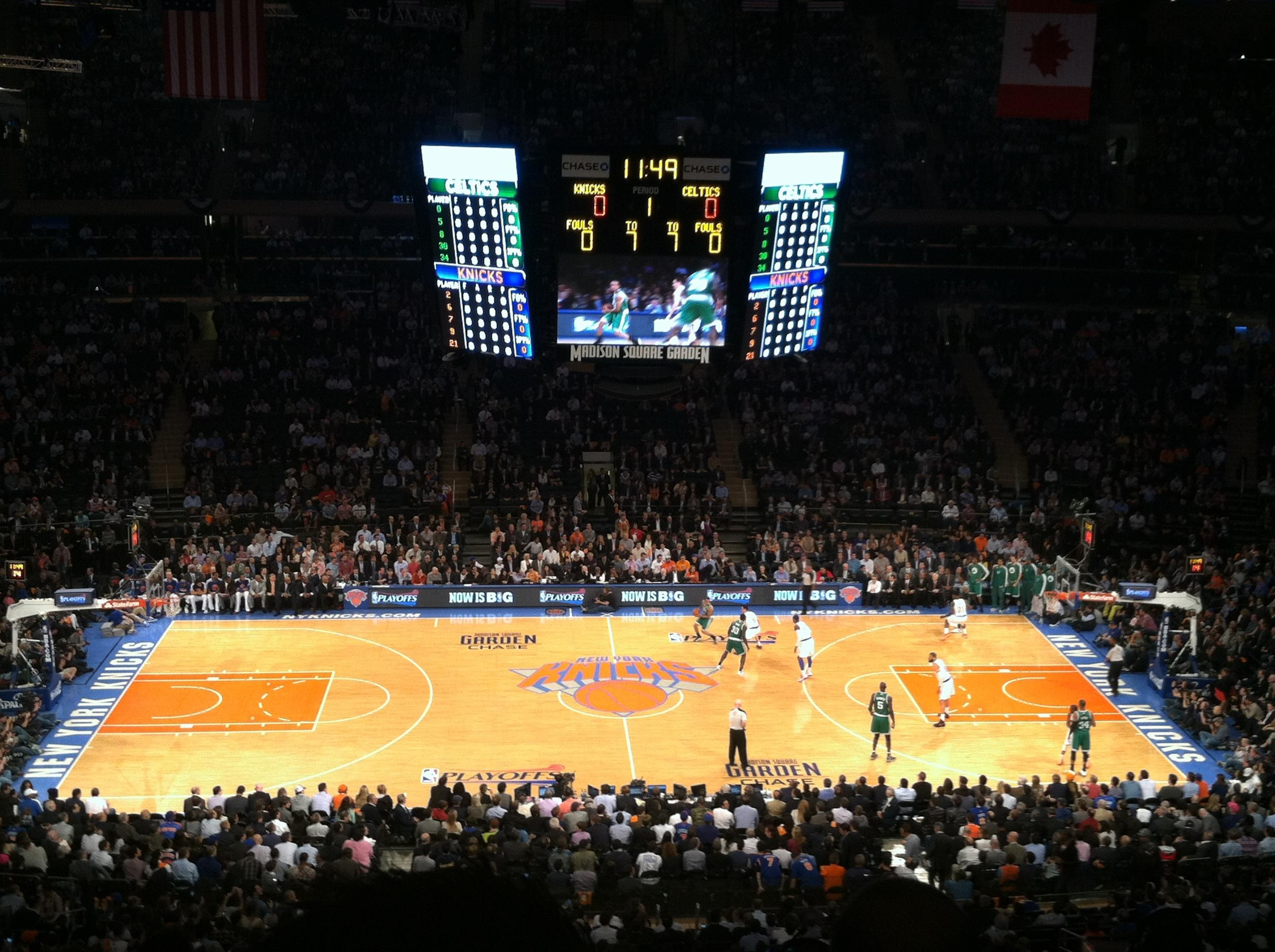 301 moved permanently Madison square garden basketball