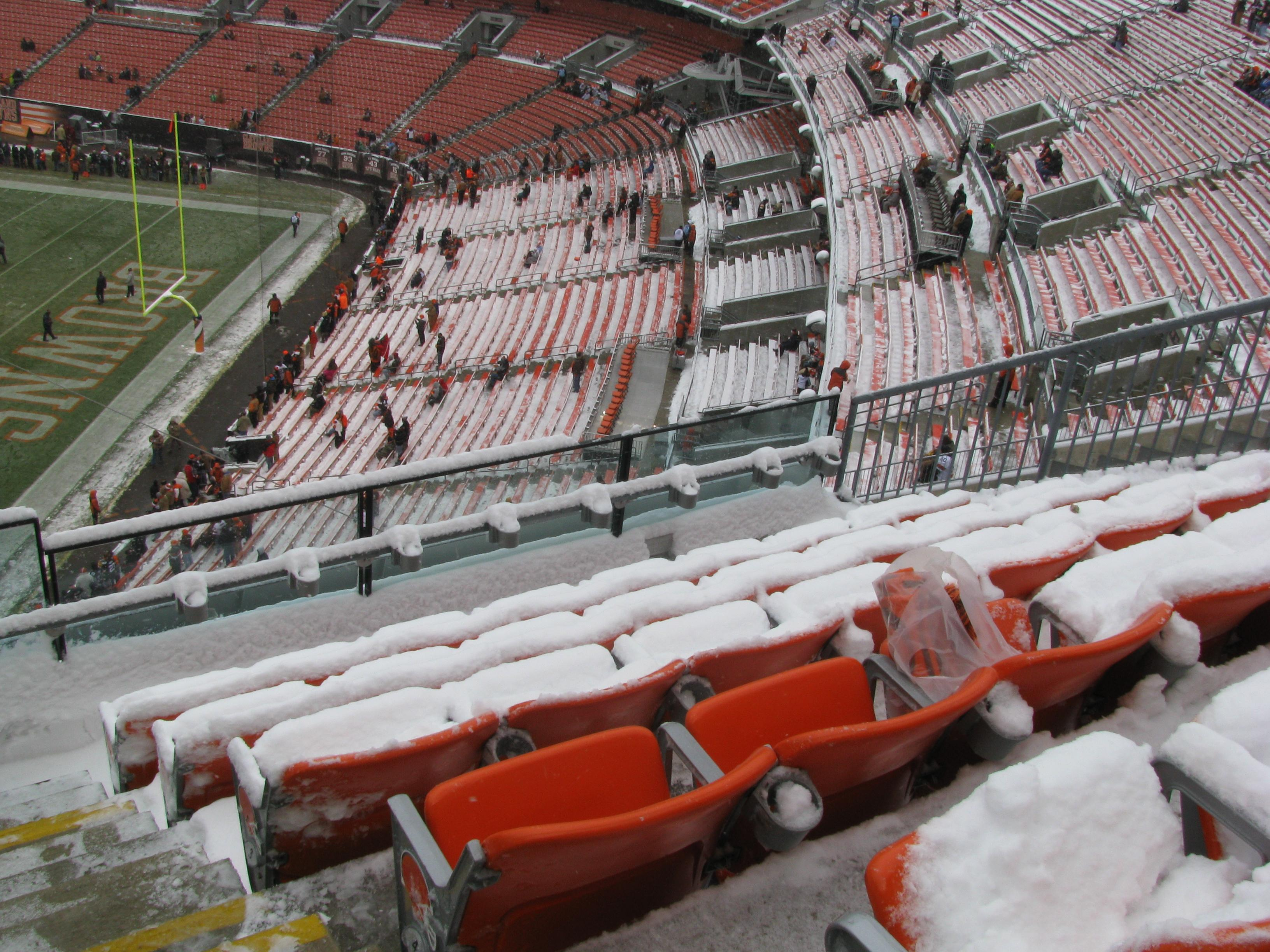 Cleveland Browns >> FirstEnergy Stadium section 516 row 4 seat 1 - Cleveland ...