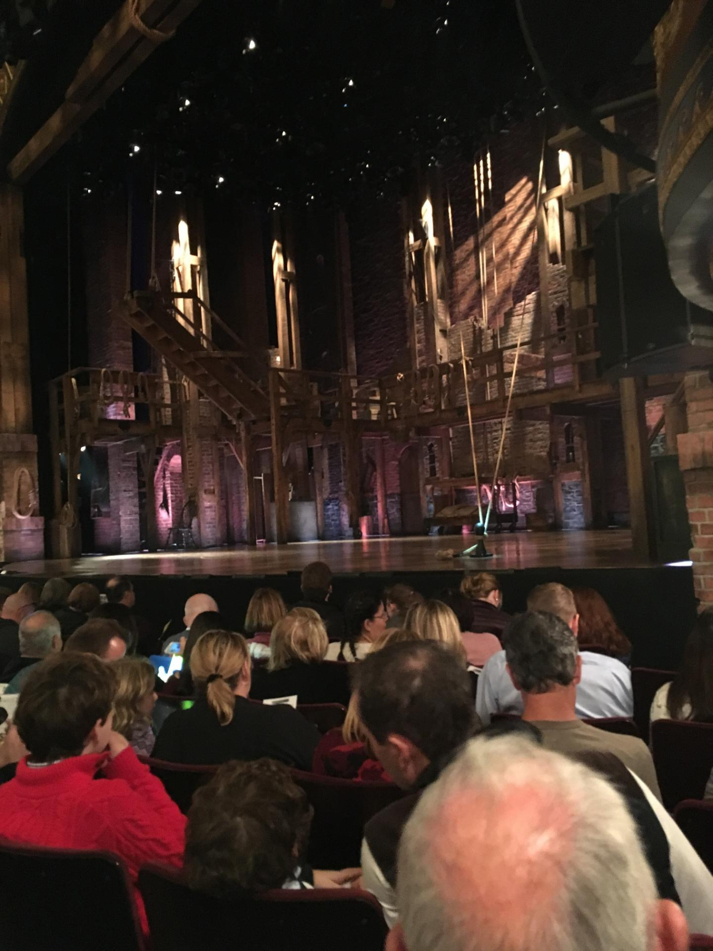 Richard Rodgers Theatre Section Orchestra R Row F Seat 18