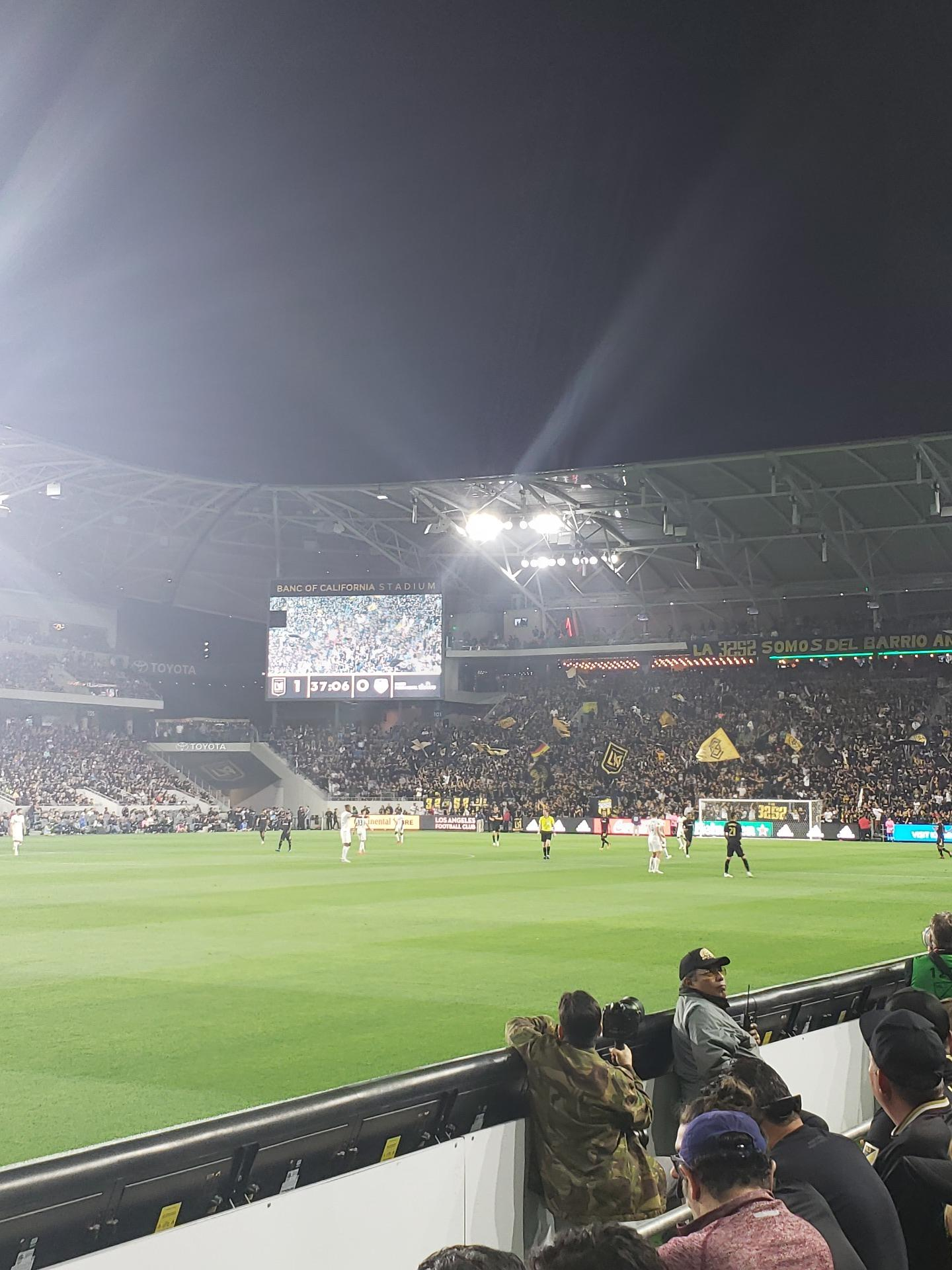 Banc of California Stadium Section 117 Row C Seat 24