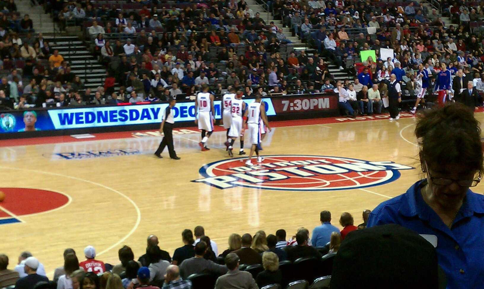 The Palace of Auburn Hills Section 102