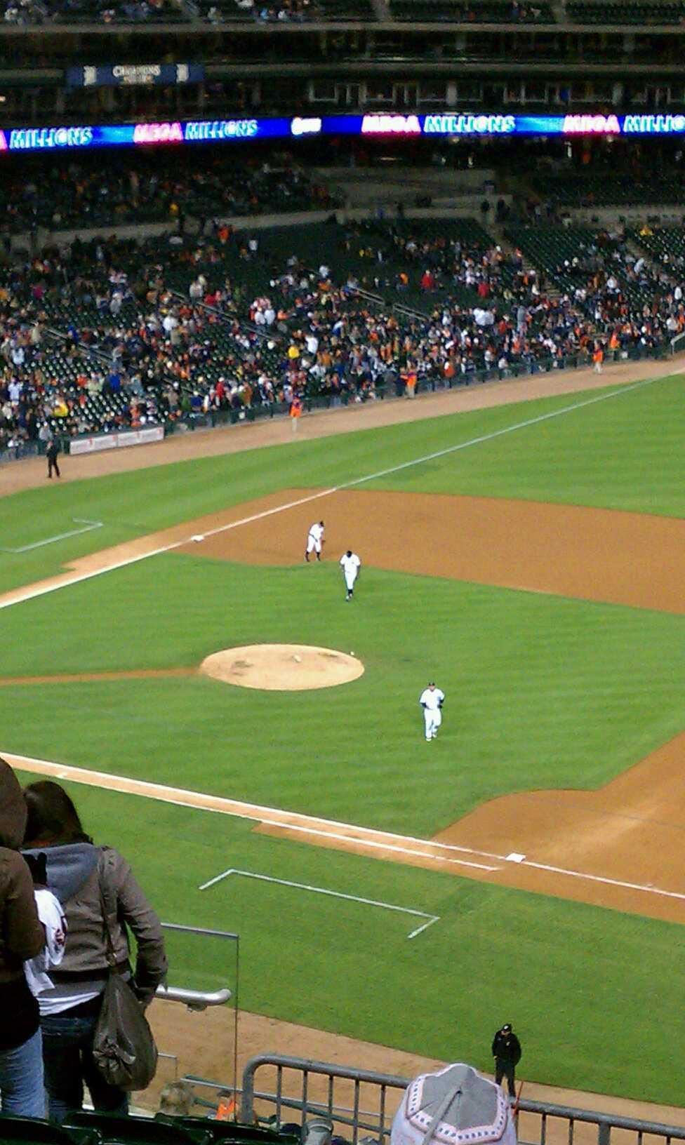 Comerica Park Section 218 Row 10 Seat 17