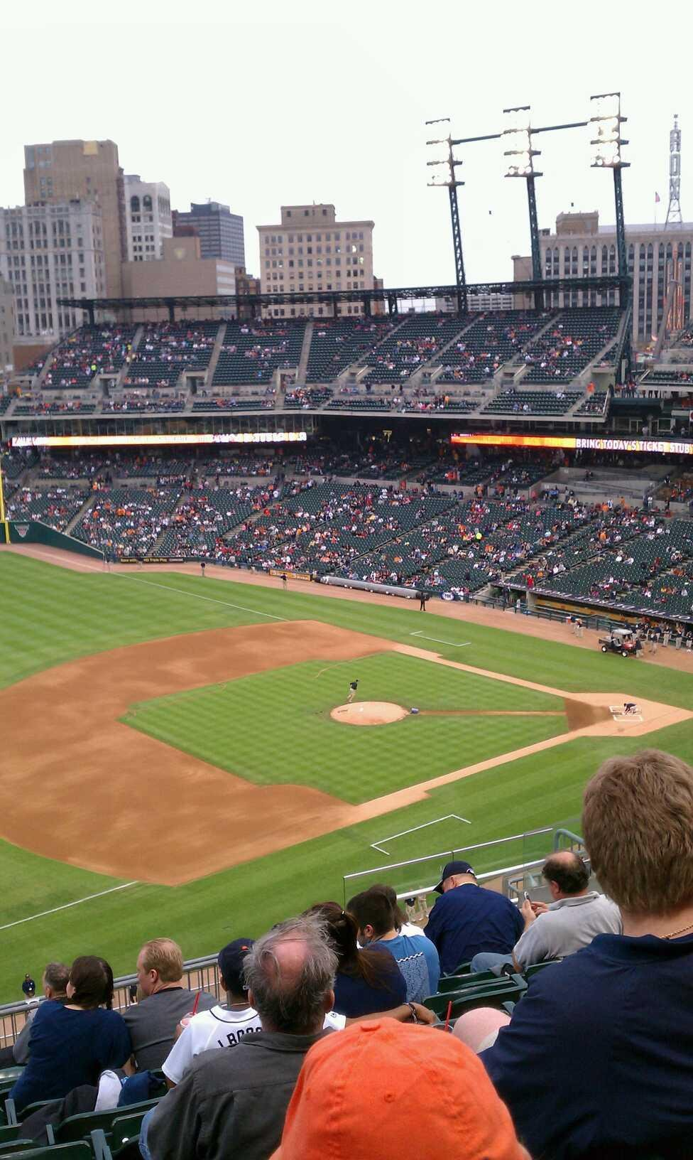Comerica Park Section 338 Row 10 Seat 12