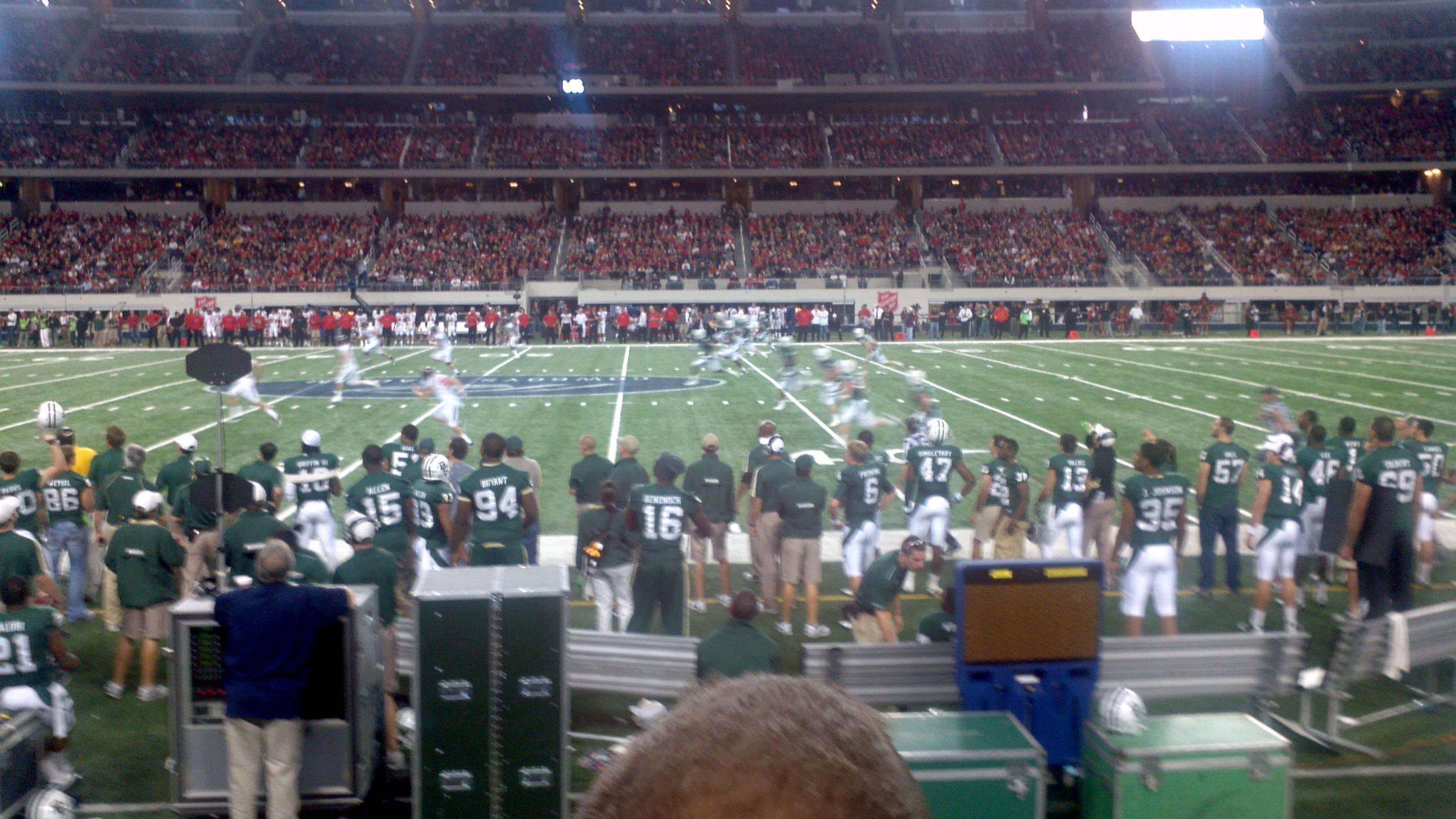 AT&T Stadium Section C110 Row 2 Seat 12