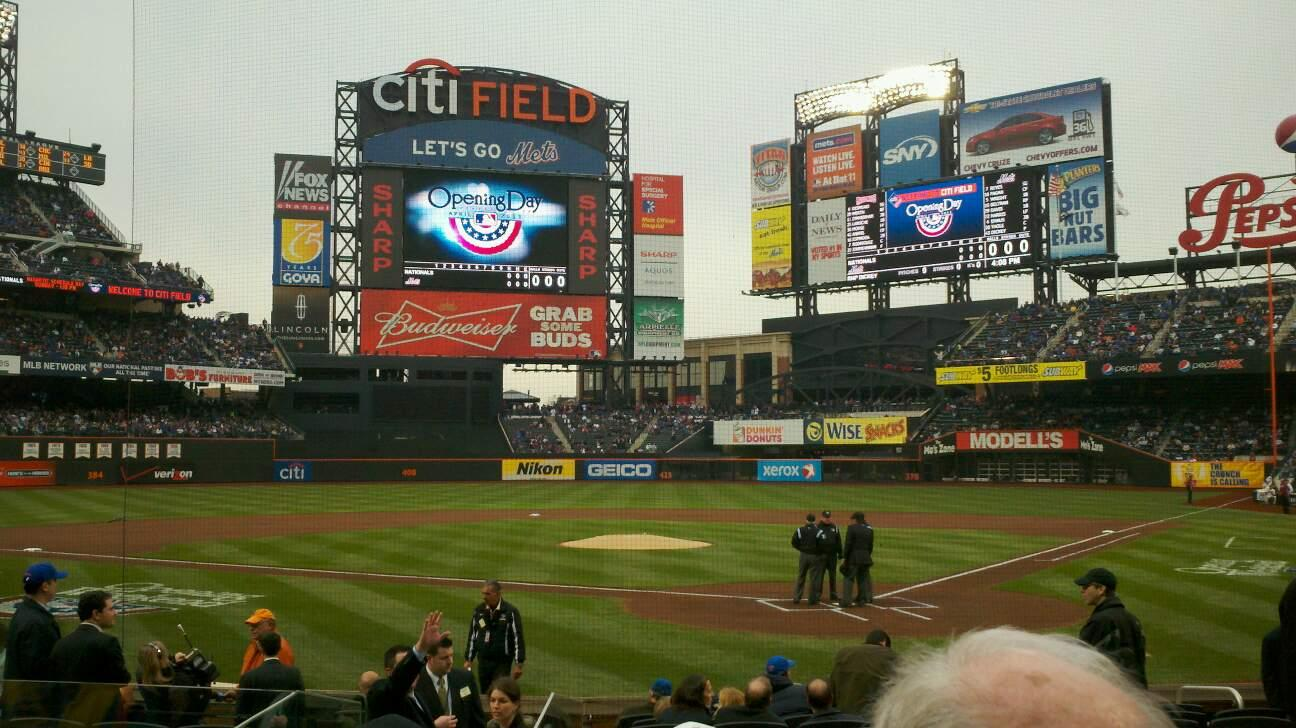 Citi Field Section 16 Row 12 Seat 11