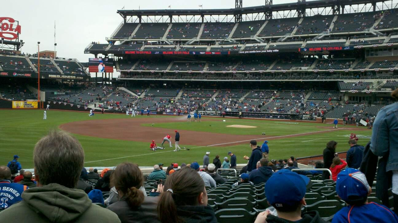 Citi Field Section 126 Row 19 Seat 11