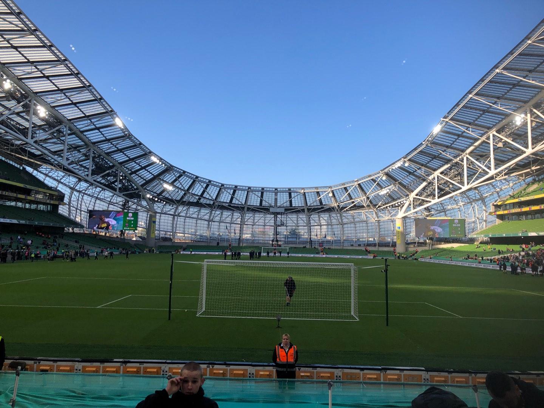 Aviva Stadium Section 115 Row N Seat 24