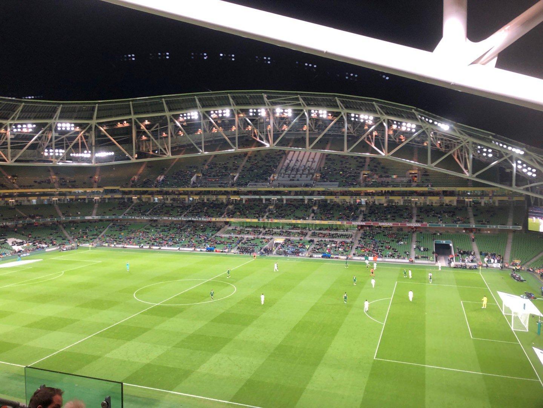 Aviva Stadium Section 502 Row E Seat 9