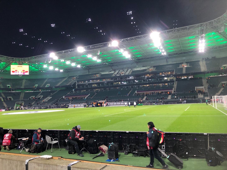 Borussia Park Section 12 Row 3 Seat 6