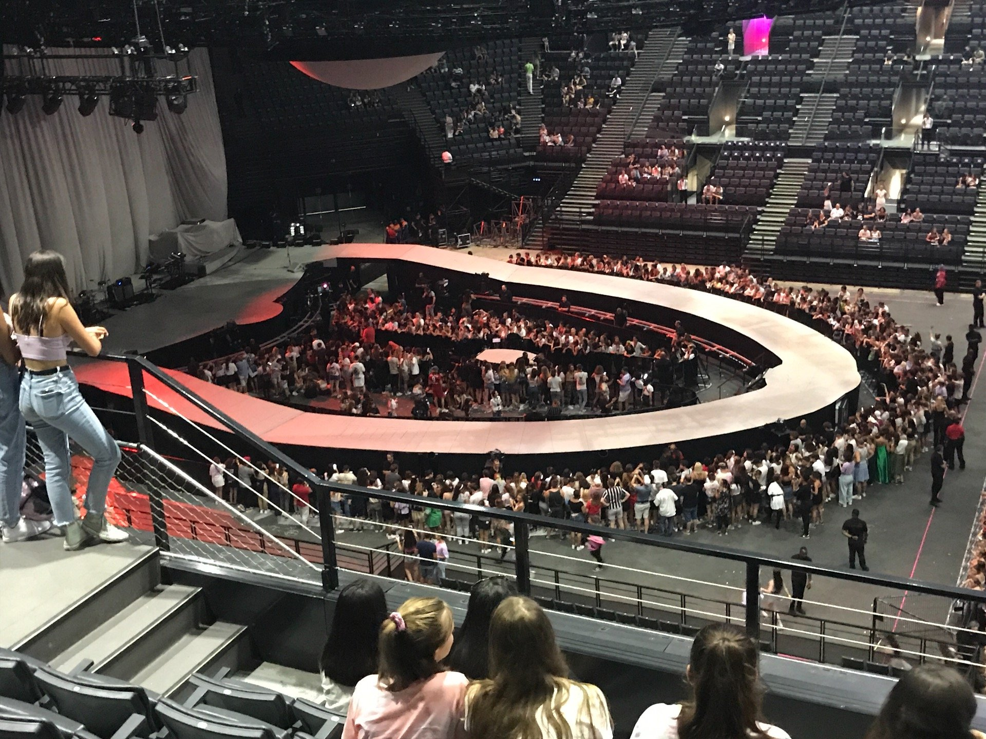 AccorHotels Arena Section Balcon P Row 86 Seat 01