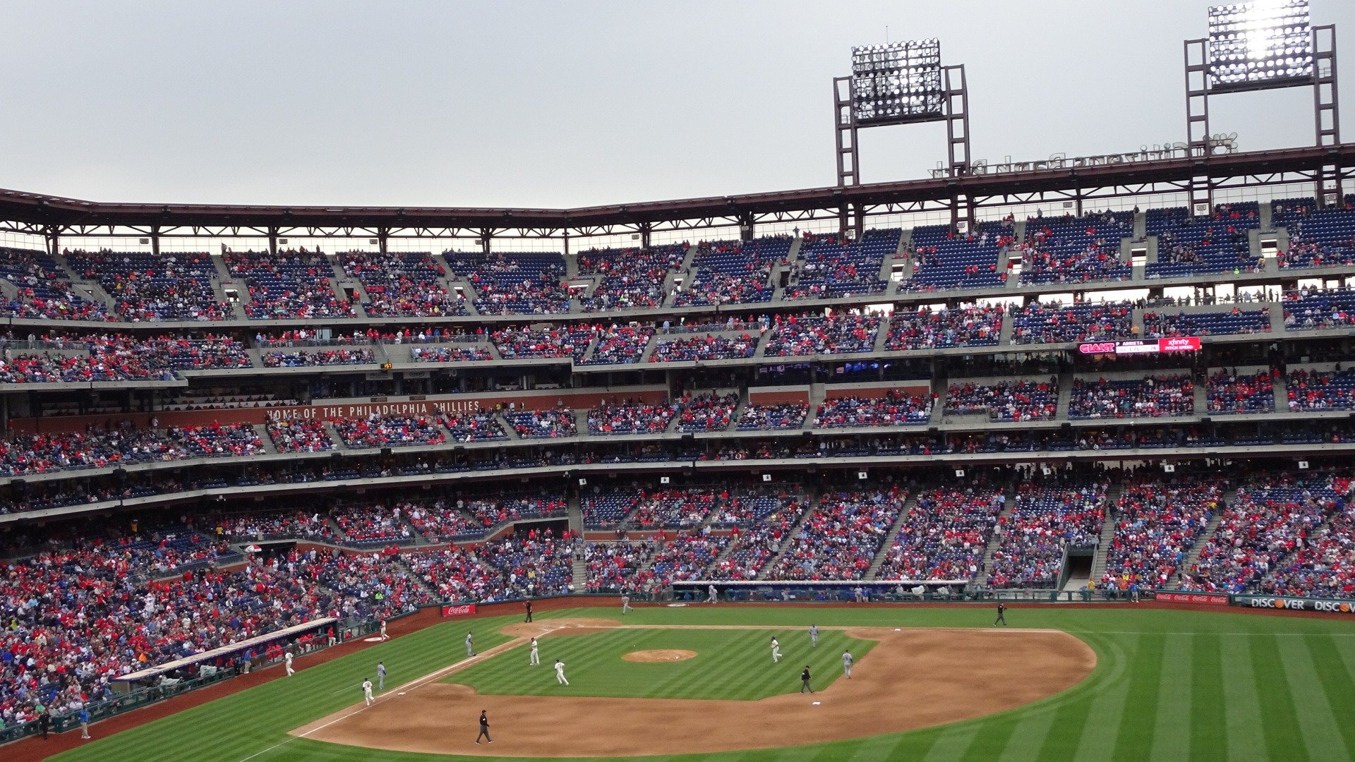 Citizens Bank Park  Section 201 Row 11 Seat 23