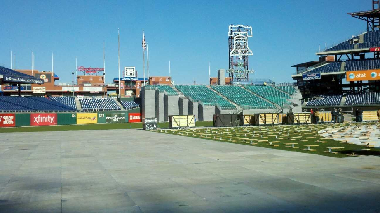 Citizens Bank Park Section 3rd Base