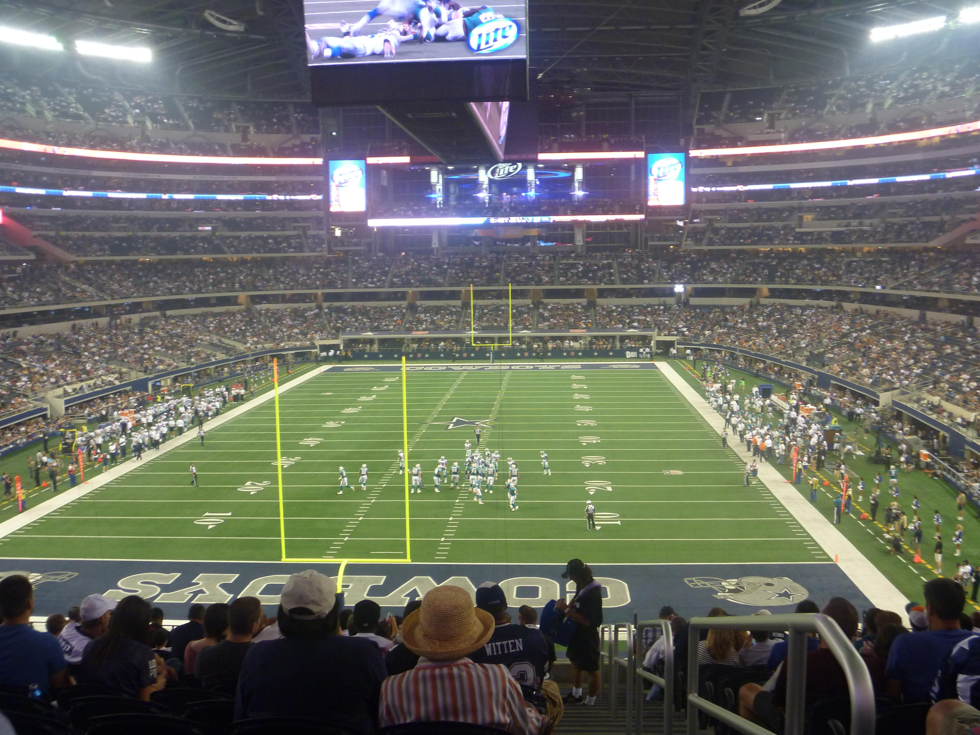 AT&T Stadium Section 247 Row SRO