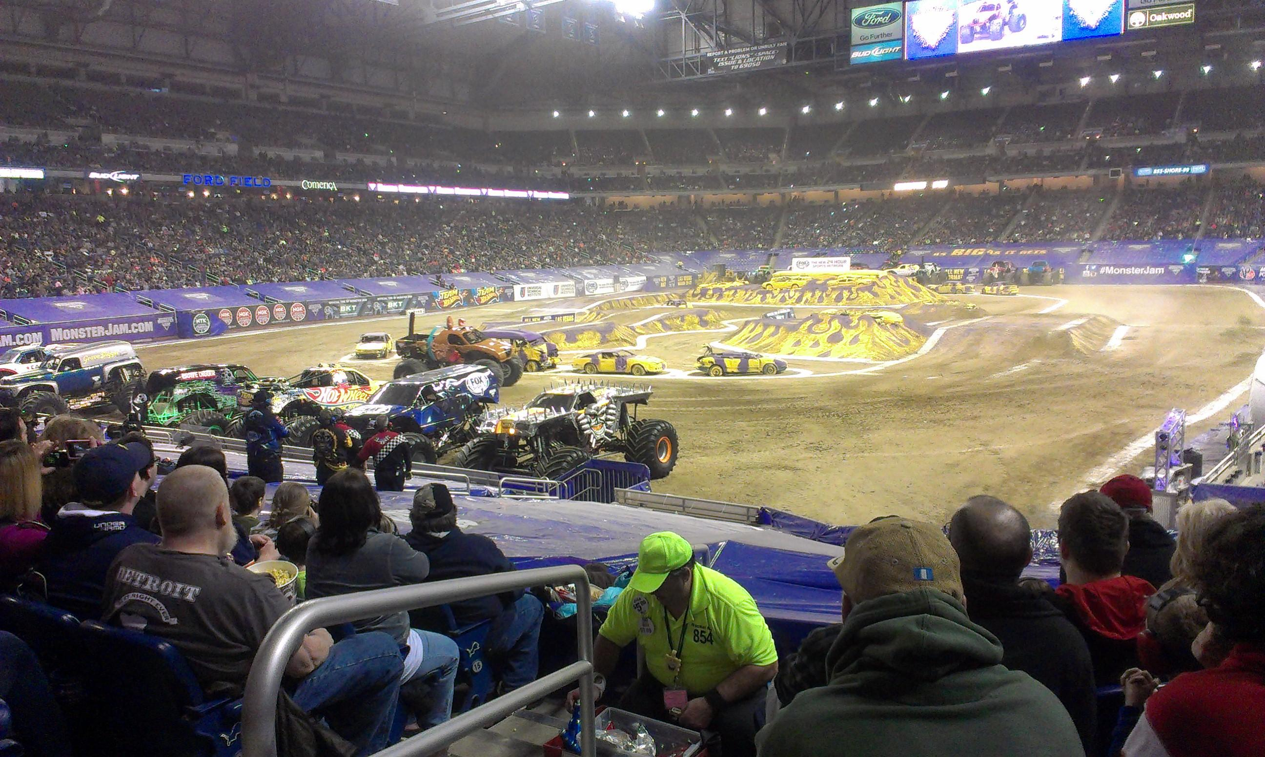 Ford Field Section 141 Row 20 Seat 1