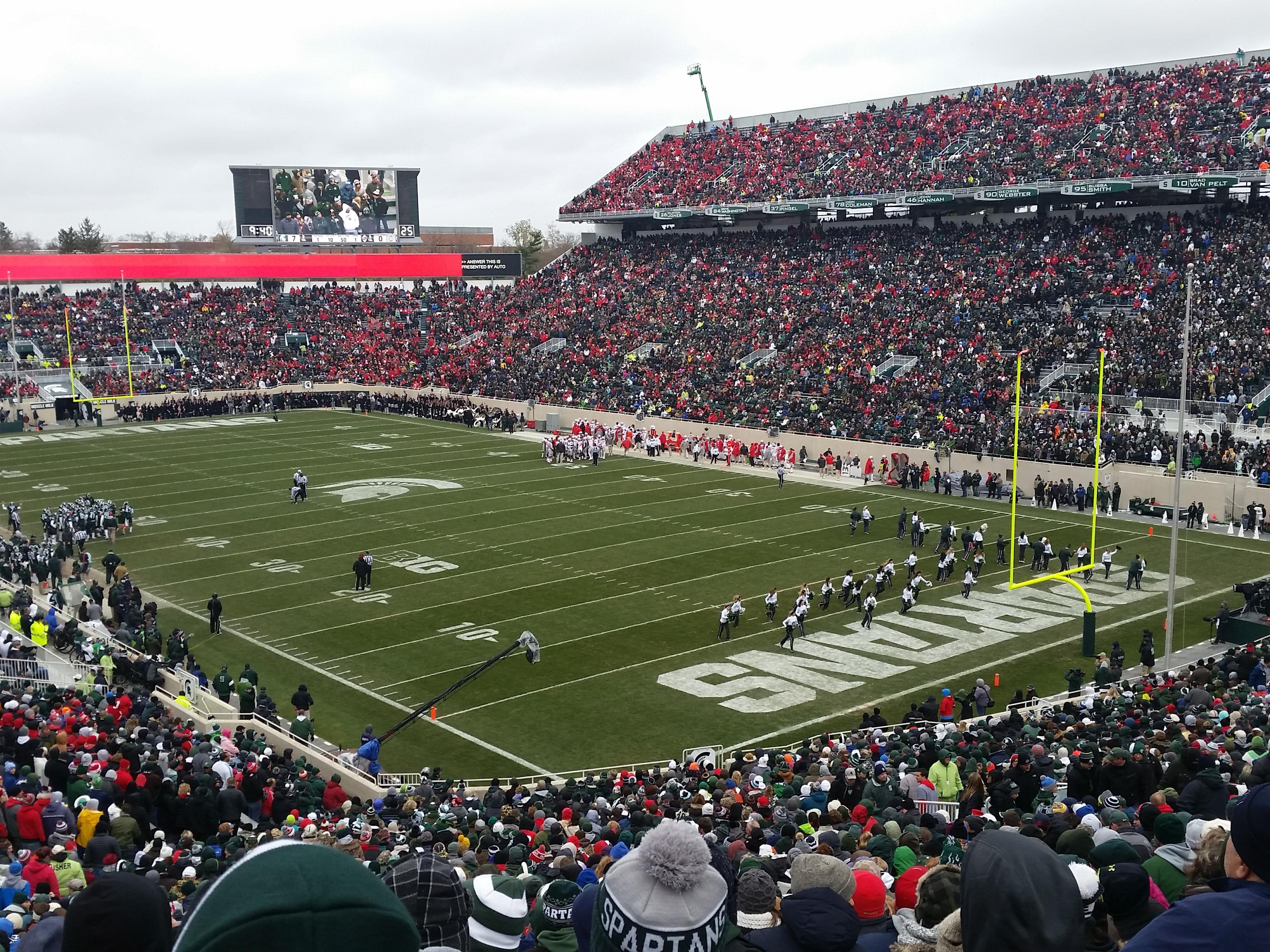 Spartan Stadium Section 19 Row 55 Seat 21
