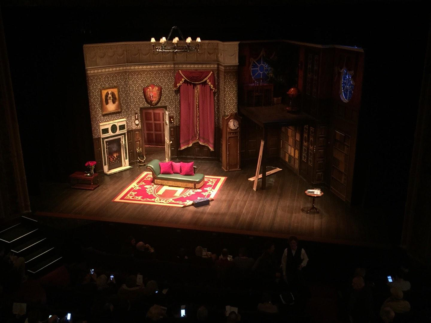 Lyceum Theatre (Broadway) Section Mezzanine Row C Seat 101