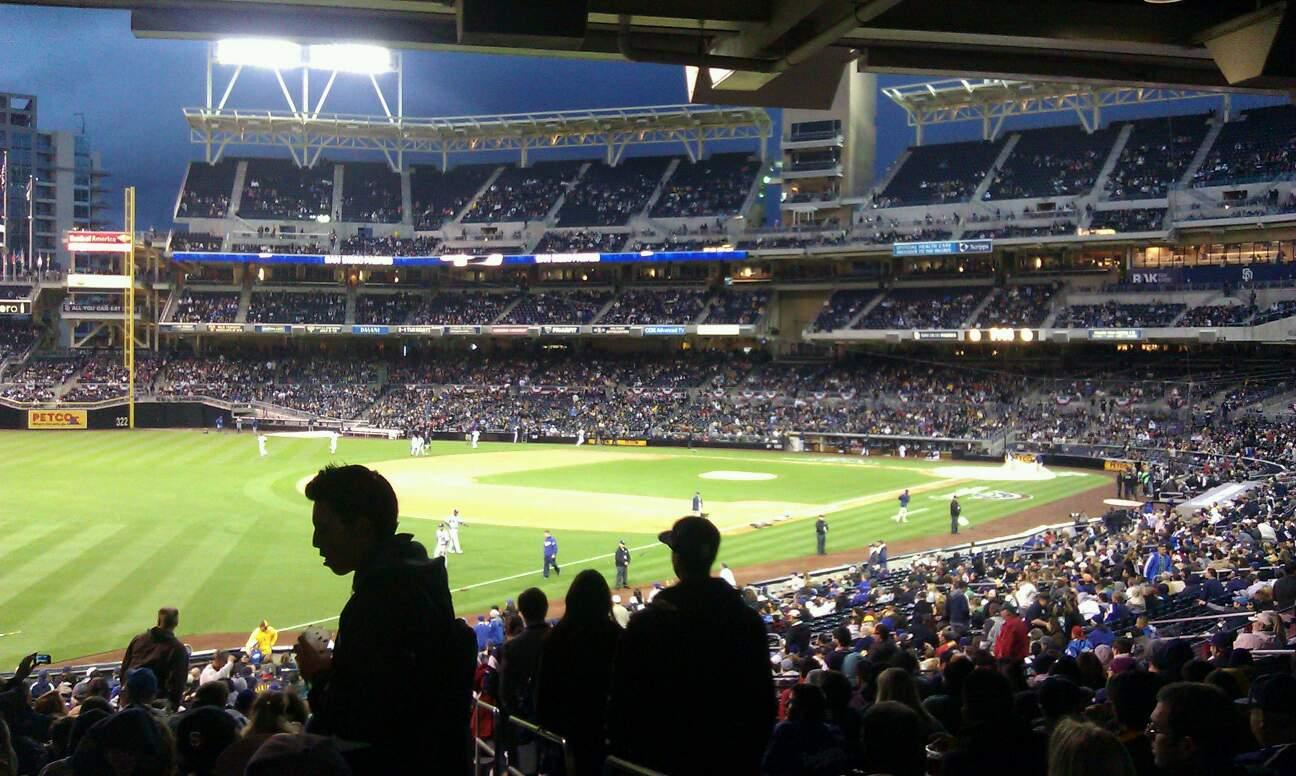 PETCO Park Section 122 Row 42 Seat 1
