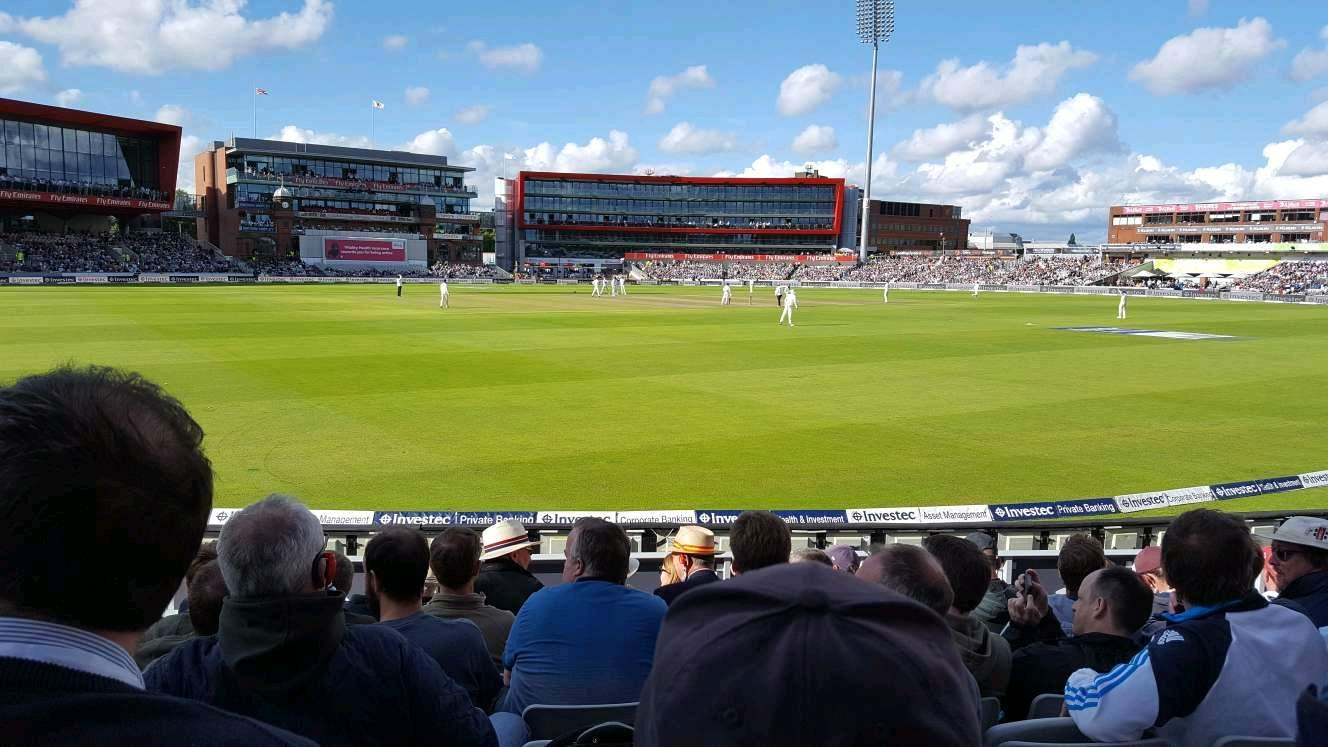 Old Trafford Cricket Ground Section A6 Row 11 Seat 211