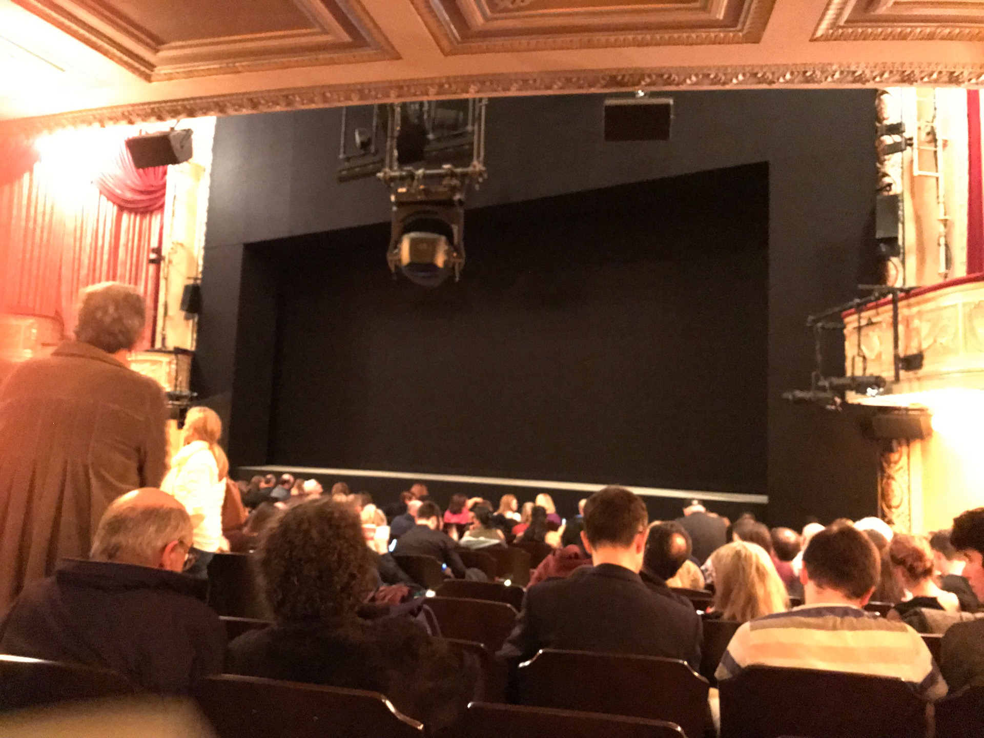 Bernard B. Jacobs Theatre Section Orchestra L Row N Seat 14