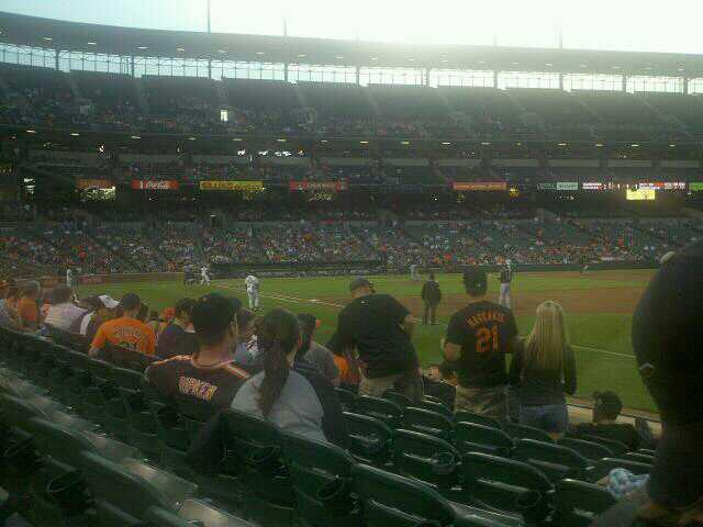 Oriole Park at Camden Yards Section 12 Row 7 Seat 3
