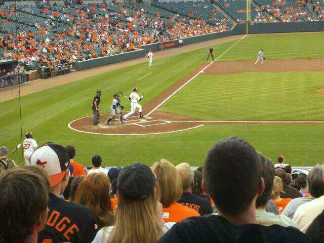 Oriole Park at Camden Yards Section 26 Row 24 Seat 4