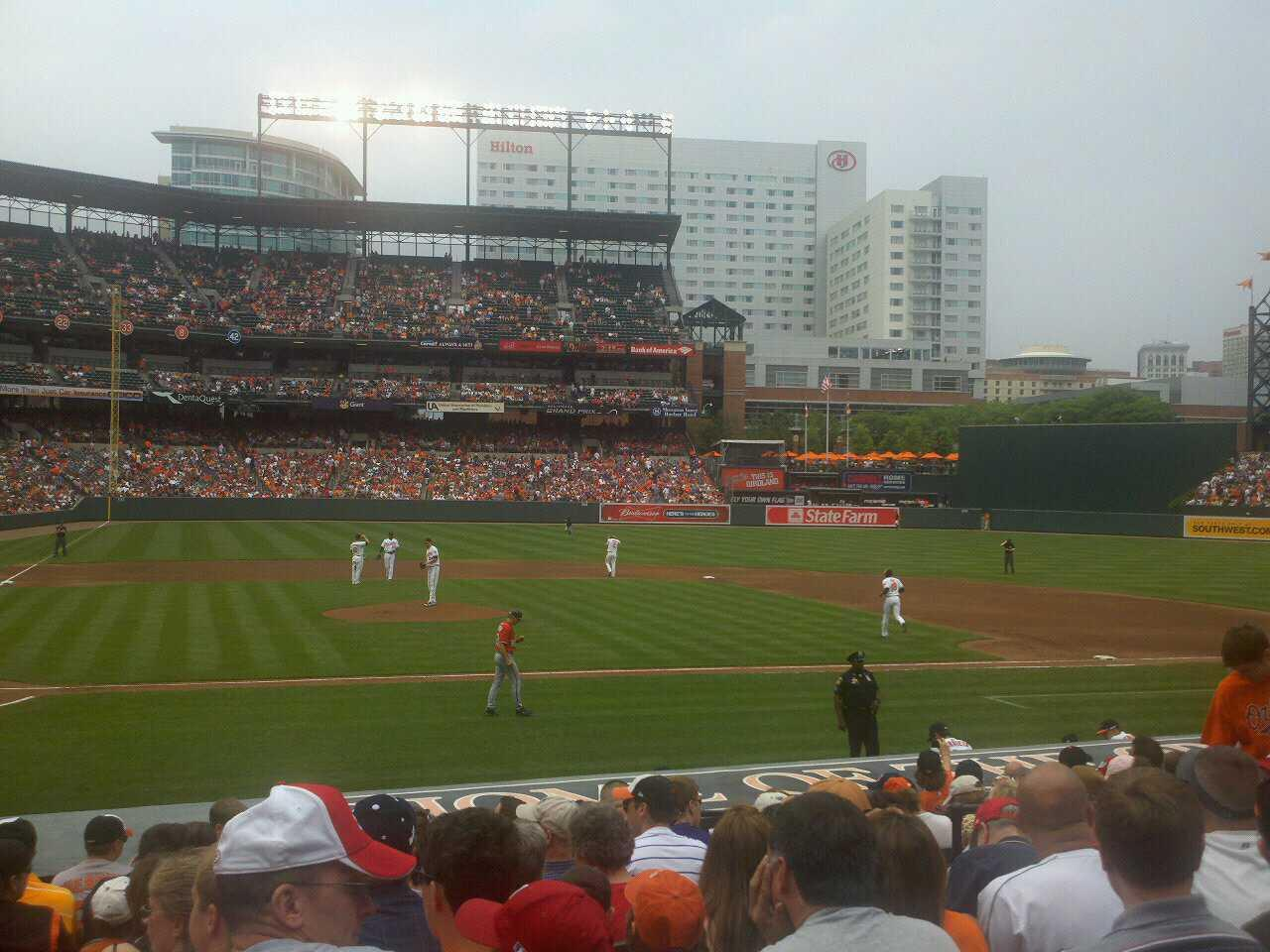 Oriole Park at Camden Yards Section 26 Row 12 Seat 4