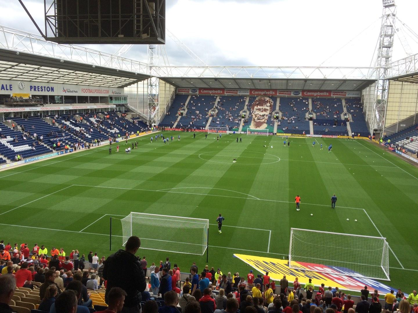 Deepdale Section M Row 32 Seat 67