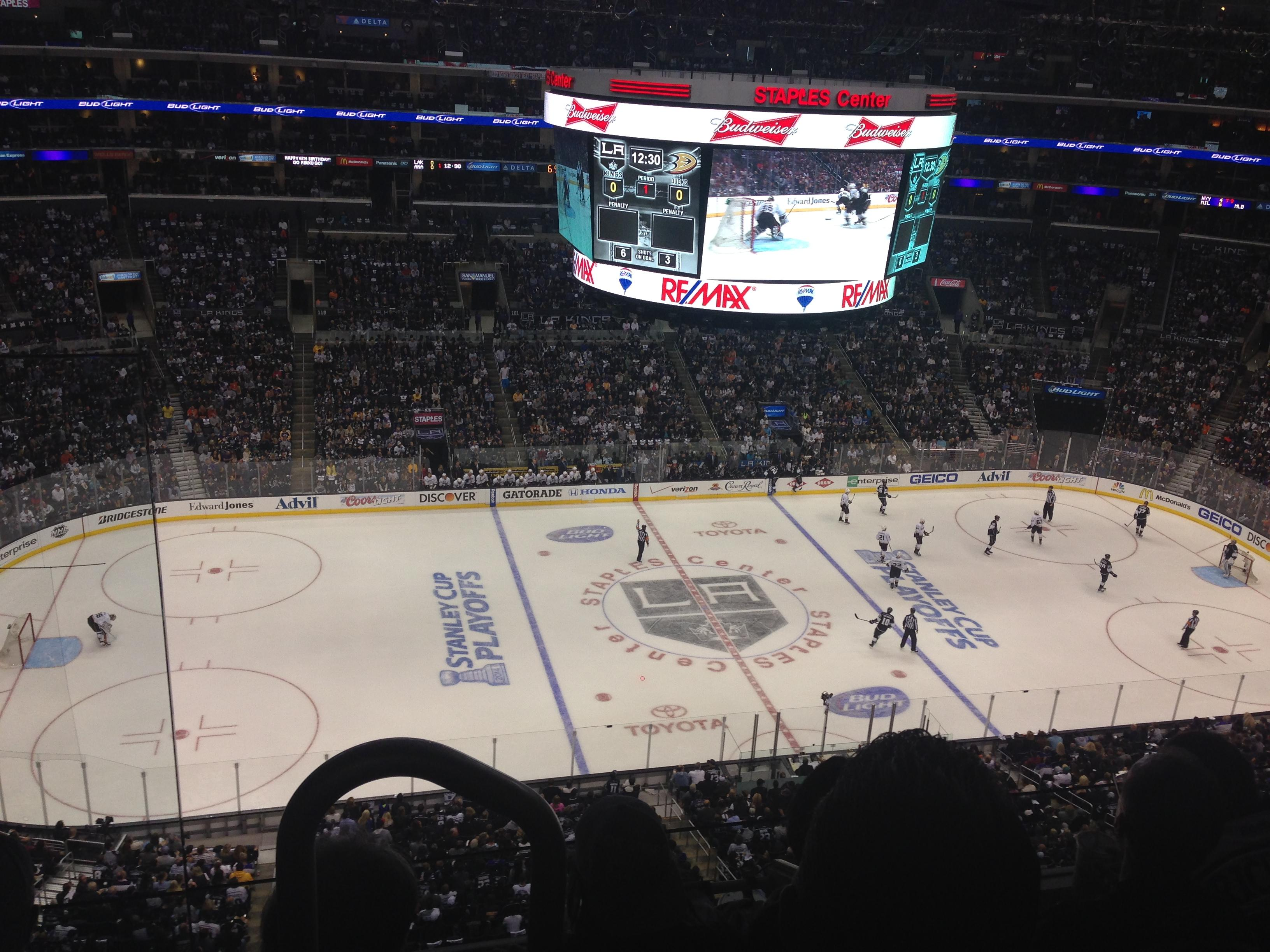 Staples Center Section 334 Staples Center Section 334 Los