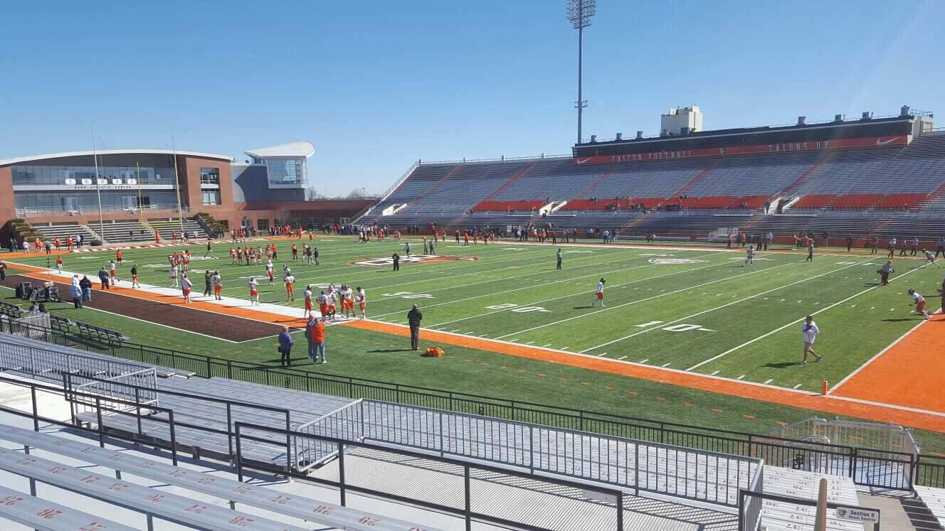 Doyt Perry Stadium Section 7 Row 19 Seat 1