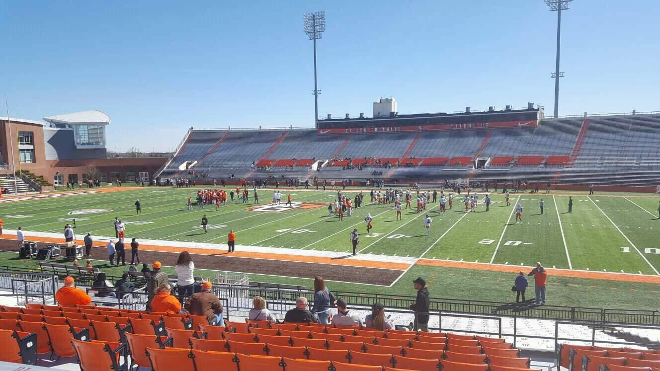 Doyt Perry Stadium Section 11 Row 25 Seat 28