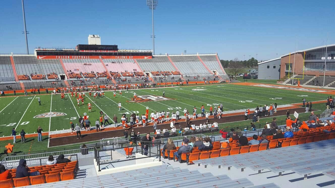 Doyt Perry Stadium Section 12 Row 32 Seat 7