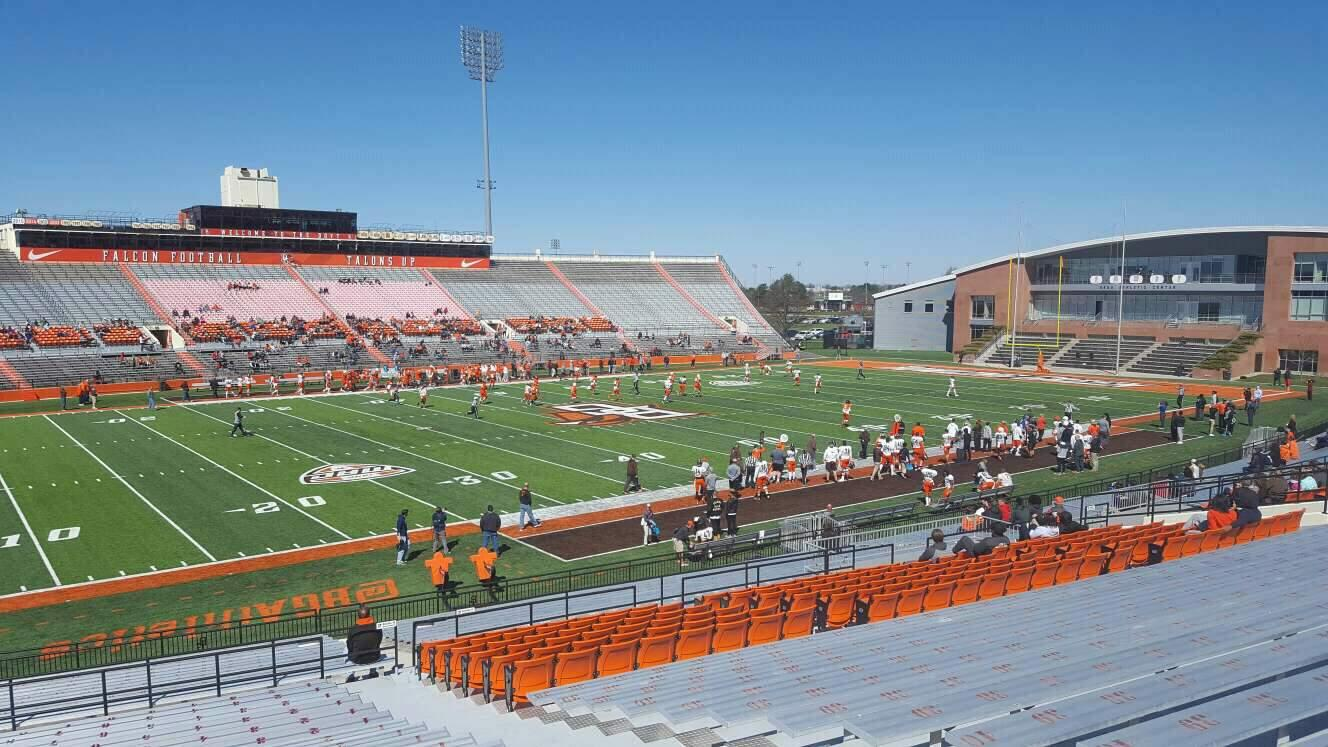 Doyt Perry Stadium Section 10 Row 33 Seat 5