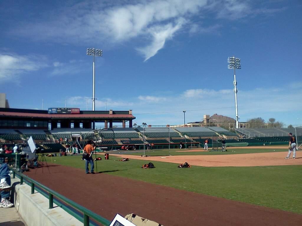 Scottsdale Stadium Section 122