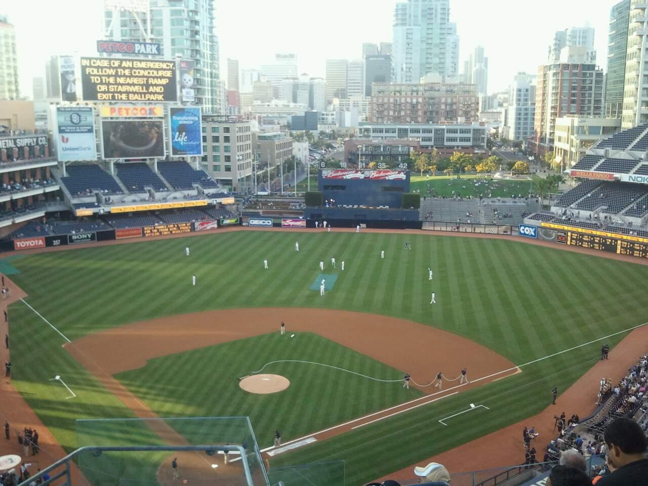 PETCO Park Section 303 Row 13 Seat 1