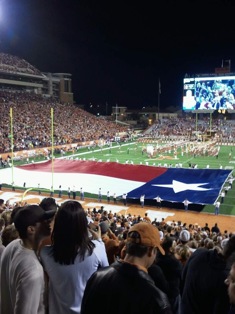 Texas Memorial Stadium Section 14 Row 37