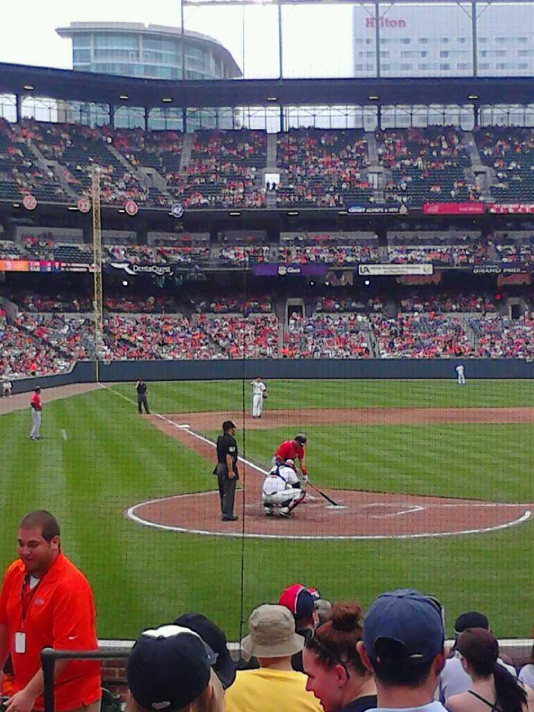 Oriole Park at Camden Yards Section 30 Row 13 Seat 6