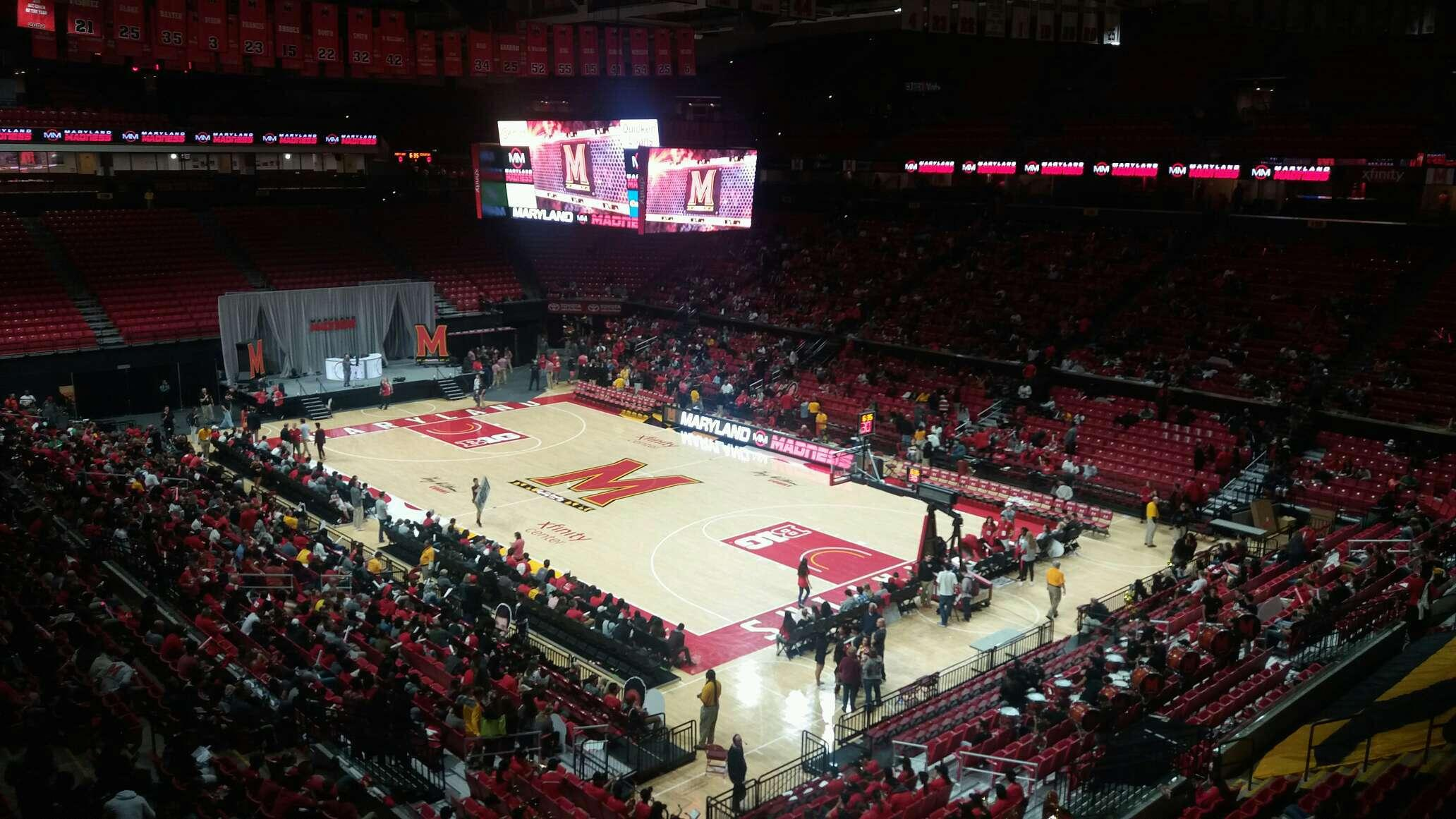 Xfinity Center (Maryland) Section 118 Row 17 Seat 17