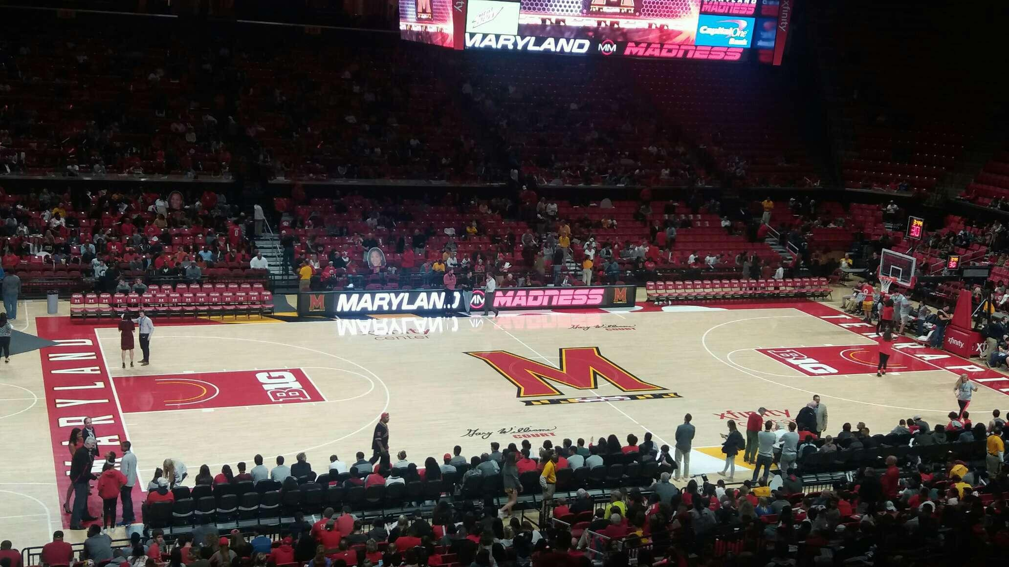 Xfinity Center (Maryland) Section 113 Row 18 Seat 19