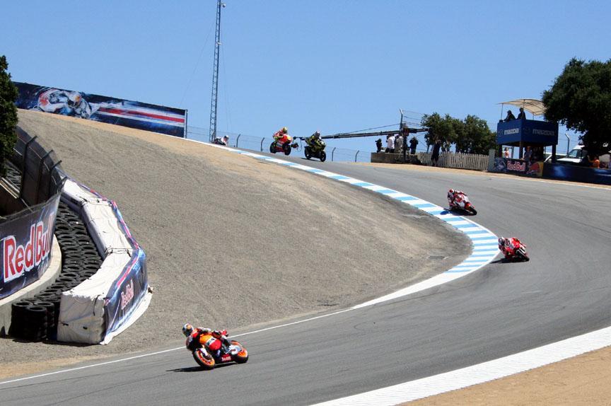 Laguna Seca Raceway >> Mazda Raceway Laguna Seca section Turn 8