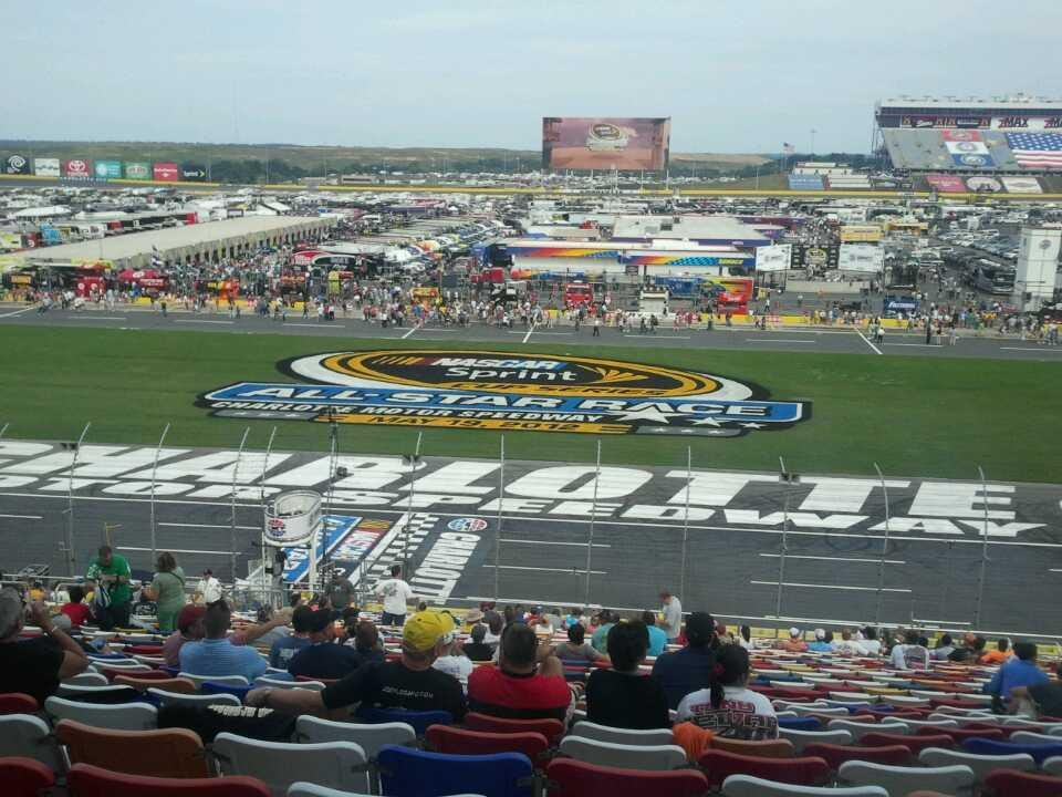 Charlotte Motor Speedway Section General Motors E Row 38