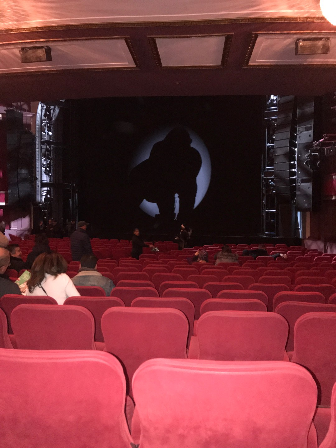 Broadway Theatre - 53rd Street Section Orchestra R Row T Seat 21